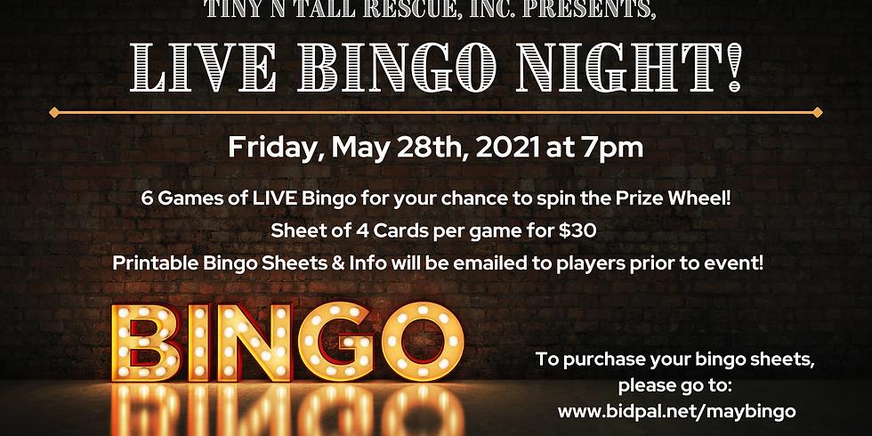 Bingo Night LIVE with TNT!!