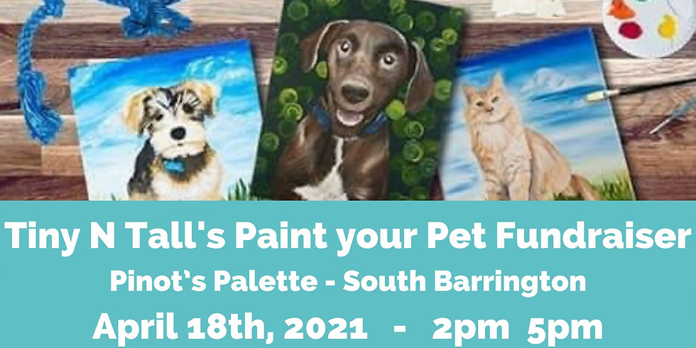 Tiny N Tall's Paint your Pet Fundraiser