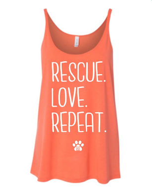 Slouchy Tank - Rescue.Love.Repeat