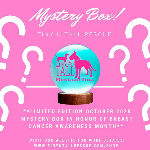Oct. 2020 Breast Cancer Awareness Mystery Box!!