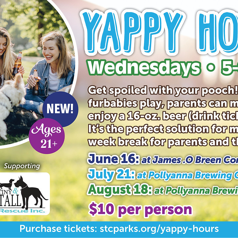 Yappy Hour with TNT!