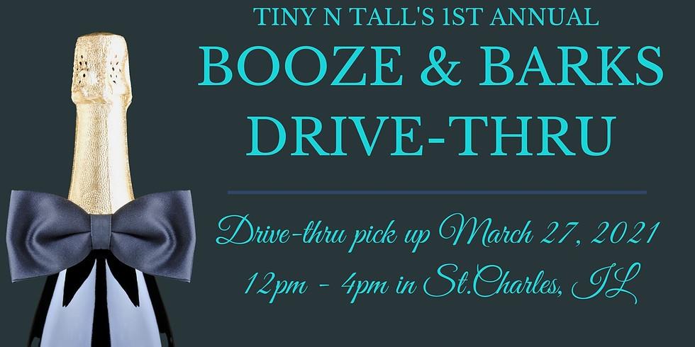 Booze & Barks Drive-Thru!