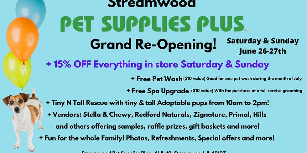 Pet Supplies Plus Re-Grand Opening!!