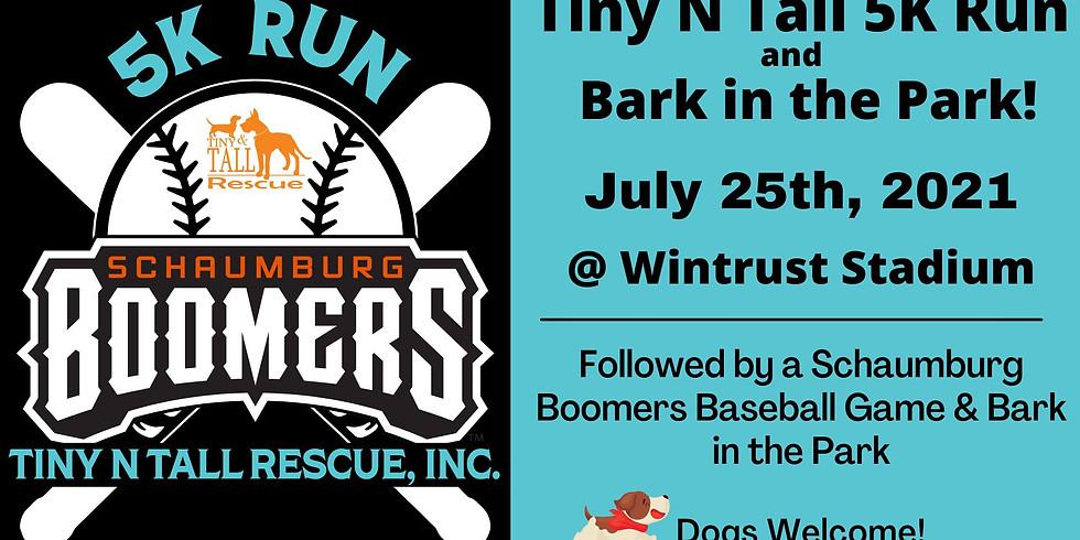 Tiny N Tall 5K Run & Bark in the Park!