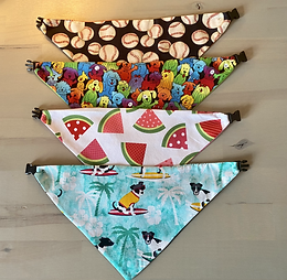 Extra Small - Summer Fun Dog Bandana