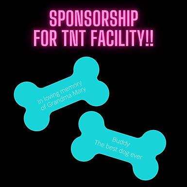 Level 3 Sponsorship for TNT Facility!!
