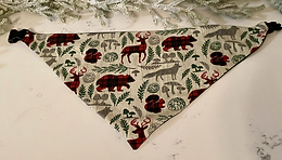 LARGE Holiday Bandana