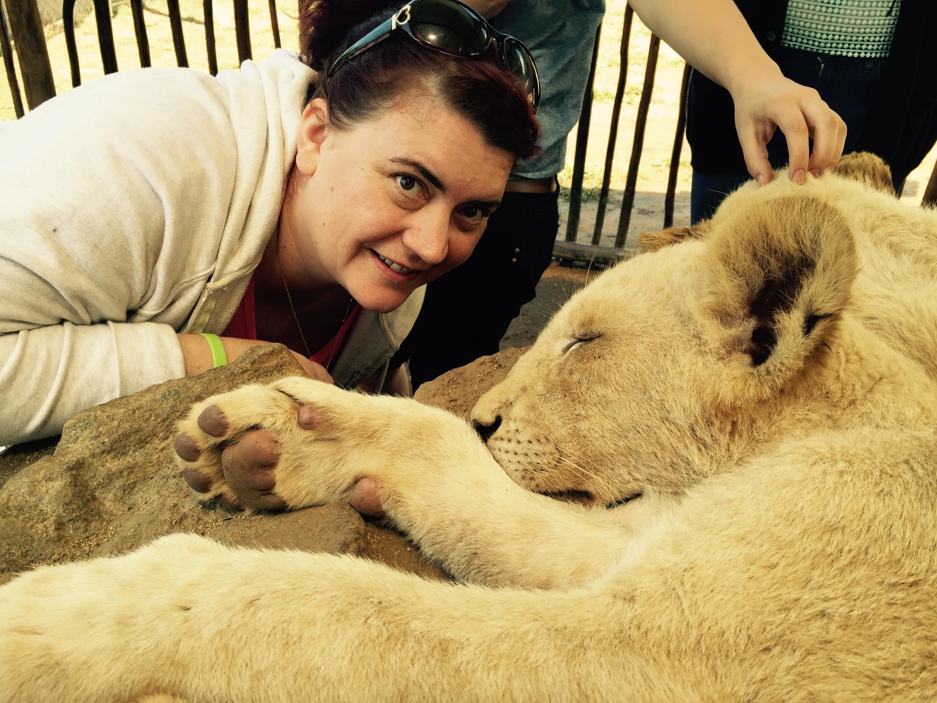 Lion Park Trip