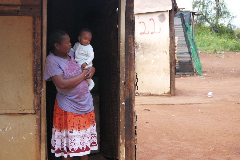 Feeding Programme - the township