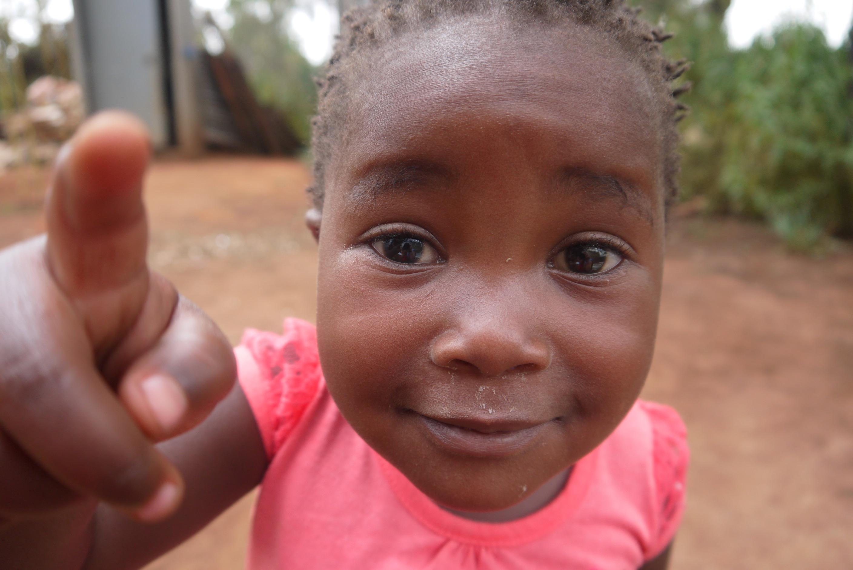 Feeding Programme - the children