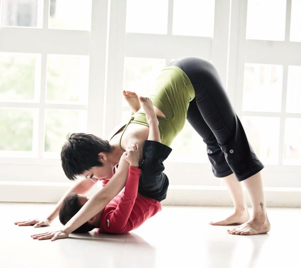 Yoga for Parents & Kids 亲子瑜伽
