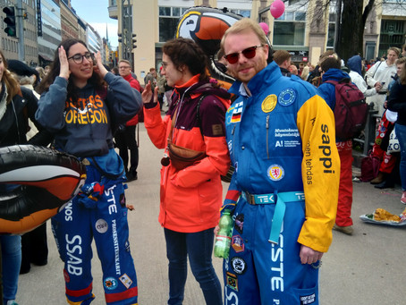 May Day celebration of education in Finland - a cultural phenomena?