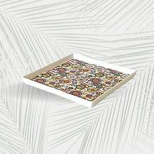 Vassoio quadrato Colorful