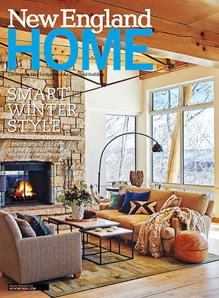 New England Home magazine January February issue