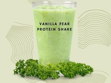 Vanilla Pear Powerhouse Protein Smoothie