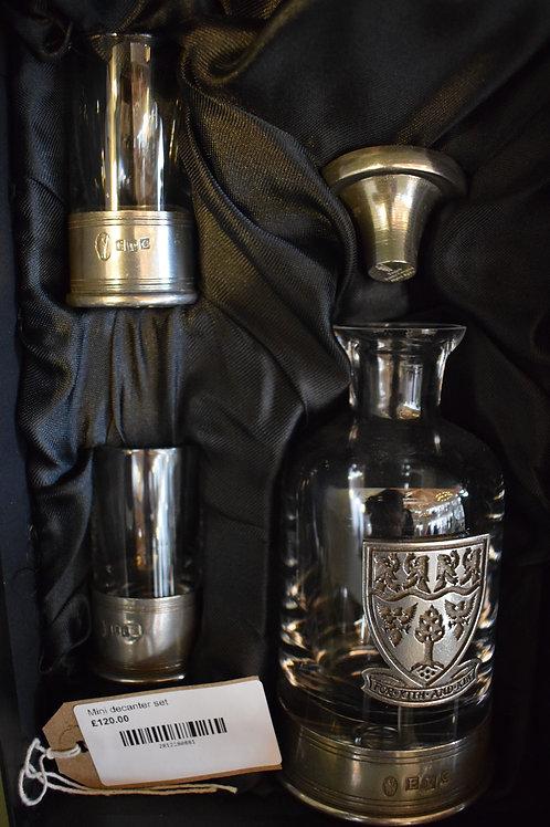 Mini decanter set