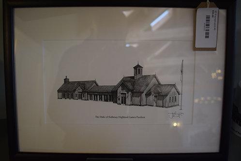 Pavilion Framed Art Print