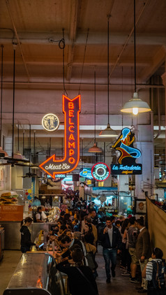Food Markets, Downtown, Los Angles