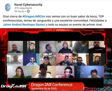Gran Cierre del evento de DragonJARCon 2020