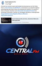 Entrevista en Central FM, México