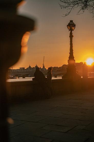 Riverside Sunset