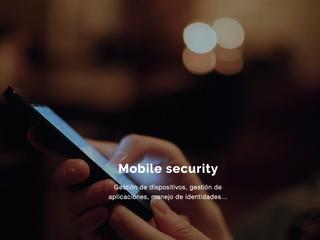 Especialista en protección de dispositivos móviles