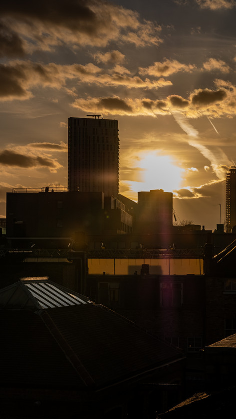 Sunset Over Shoreditch