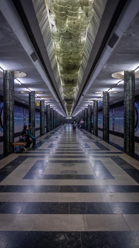 Kosmonavtlar station,Tashkent Metro, Uzbekistan