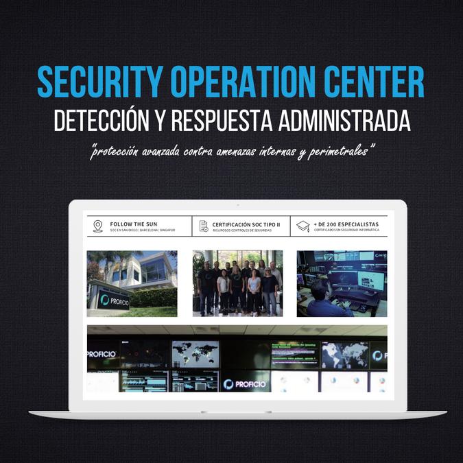 Centro de Operaciones SOC | México, Panamá y Colombia