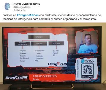 Ciberterrorismo con Carlos Seisdedos |Colombia DragonJARcon