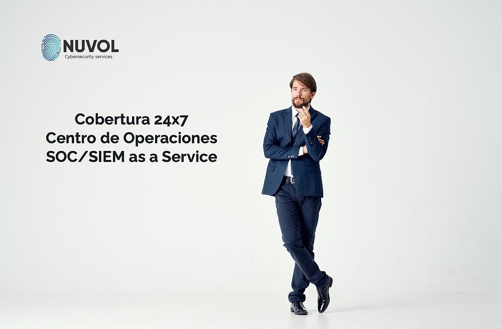 Servicio de Seguridad gestionada SOC as a Service, Centro de Operaciones SOC, Servicio Administrado SIEM Splunk