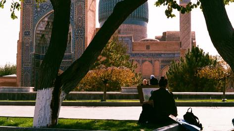 Gur Emir Mausoleum Samarkand Uzbekistan
