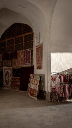 The Trading Domes of Bukhara, Uzbekistan