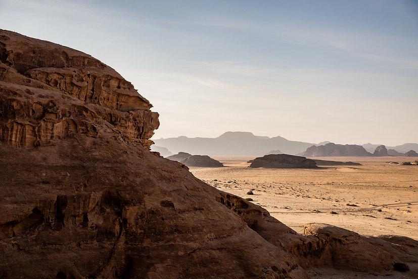 The Desert in Wadi Rum
