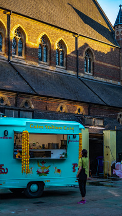Food Cart in Shoreditch