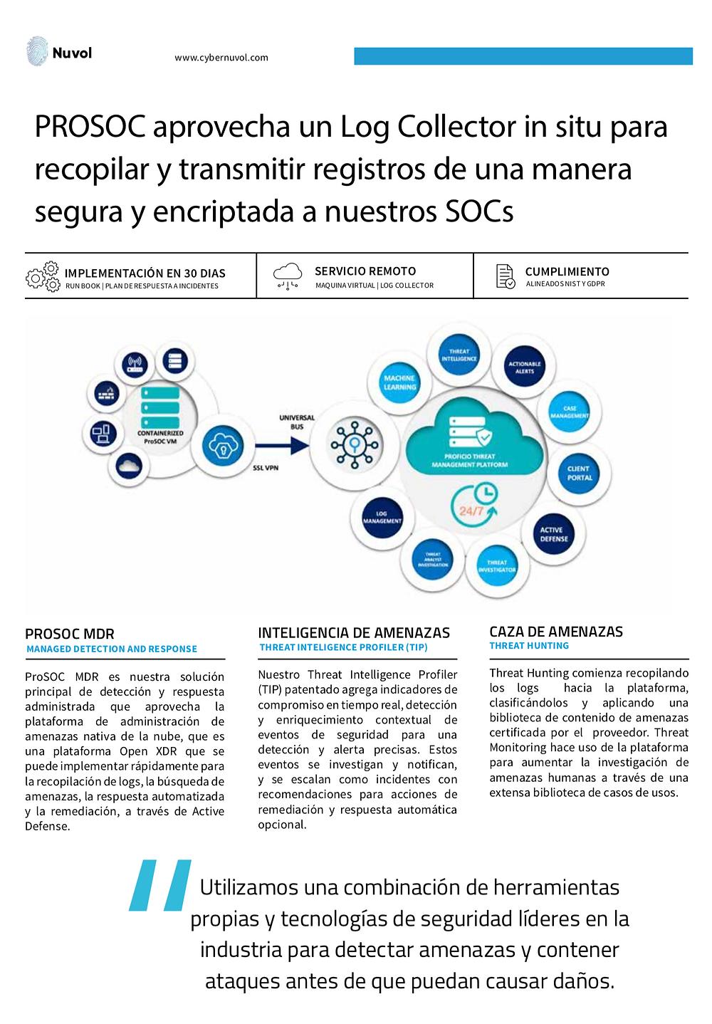 Servicio SOC, Centro de Operaciones de Seguridad Informática en México, Panamá y Colombia