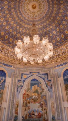 Inside the Amir Temur museum, Tashkent, Uzbekistan