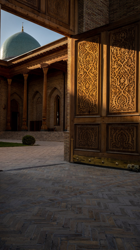 Discovering Teleshayakh Mosque, Tashkent, Uzbekistan
