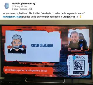 Ingeniería Social con Emiliano Piscitelli | Colombia DragonJAR