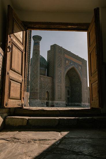 Door to Samarkand, Uzbekistan