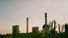Minor Mosque Tashkent Uzbekistan