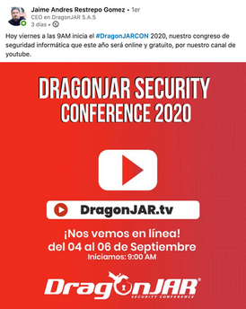 Eventos Seguridad Informática en Colombia