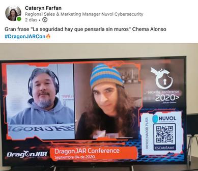 """""""La seguridad hay que pensarla sin muros"""" Chema Alonso"""