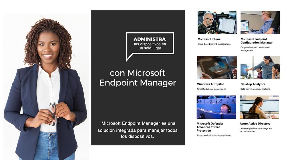 Las soluciones de administración de dispositivos móviles (MDM) como Microsoft Endpoint Manager pueden ayudar a proteger los datos de la organización exigiendo a los usuarios y dispositivos que cumplan algunos requisitos.