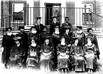 1924 graduating class Iowa National Bibl