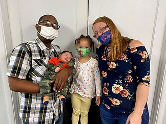 Child Development Center Family Feels Safe at Bidwell
