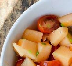 Le melon en salade!