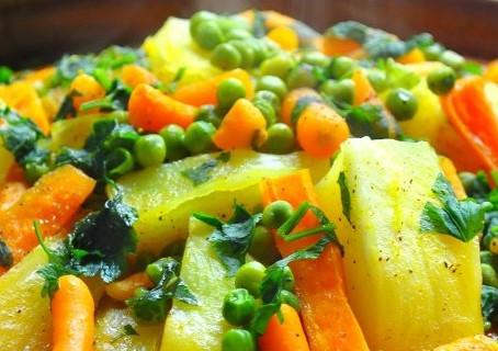 Tajine de légumes aux herbes