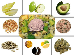 Salade d'endives complète