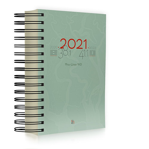 Pro-Liner HD 2021 Spiral-bound Intl English
